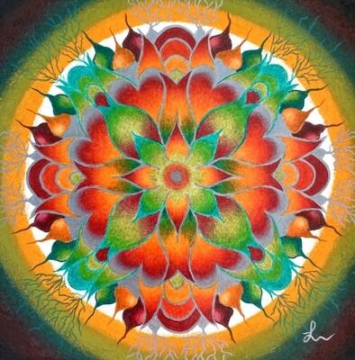 Voorbeelden Verjaardags-Mandala