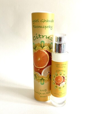 Lysel Ghanda Bio Roomspray Citrus