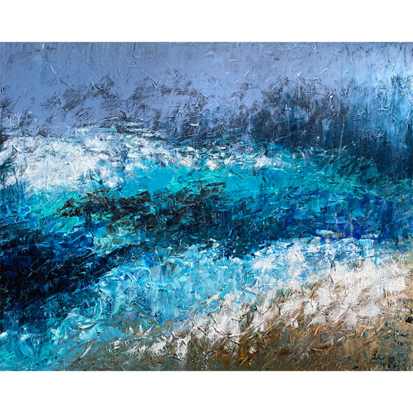 Lysel Art Acryl 'Wijsheid van de Zee / SeaWise' 100x80