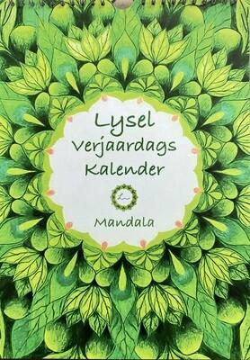 Lysel Verjaardagskalender Mandala