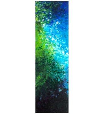 """Lysel Acryl Art """"Tropisch Water"""" / """"Tropical Water"""" 40x120"""