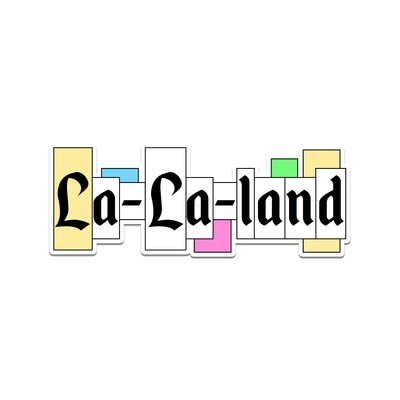 La La Land Sticker