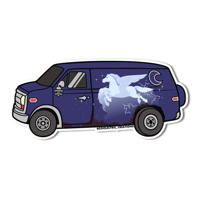 Magic Van Sticker