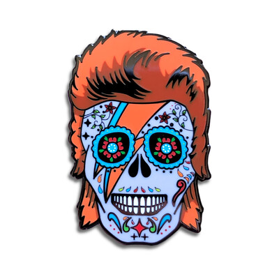 The Starman Skull Pin