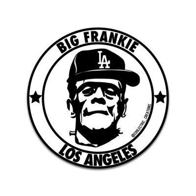 Big Frankie All Star Sticker
