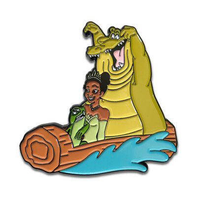 Splashes with the Frog Pin