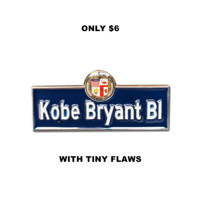 KB Blvd. Pin (tiny flaw)