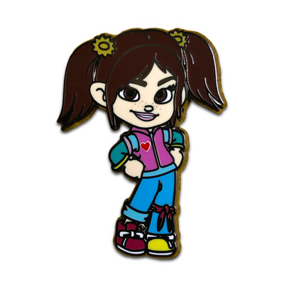 Vanellope Brewster Pin