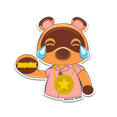 Baller Nook Sticker