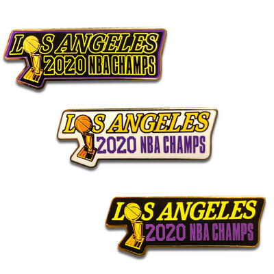 Los Angeles 2020 Champs 3 Pin Set