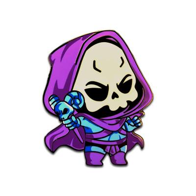 Lil Skeletor Pin