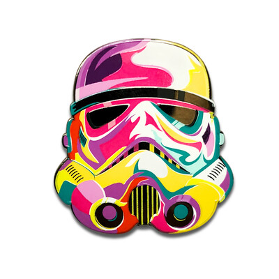Artsy Trooper Pin