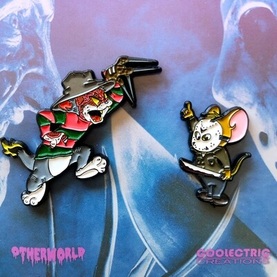 Tom Krueger vs Jerry Voorhees Pin Set