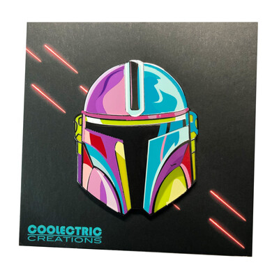 Artsy Mando Pin (with Flaw)