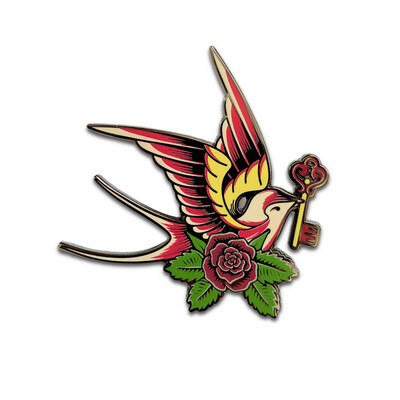 The Key to My Heart Pin