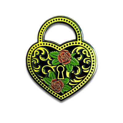 Locked in Love Pin