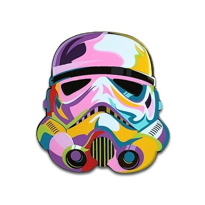 Artsy Trooper Pin