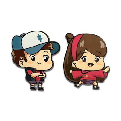 Dipper & Mabel Pin Set