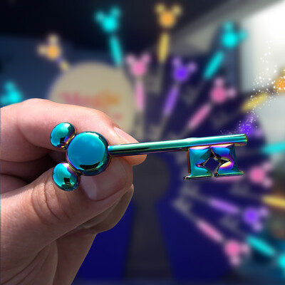 Magic Key Holder Pin