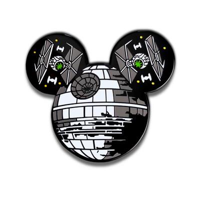 Hidden Death Star Magic Pin