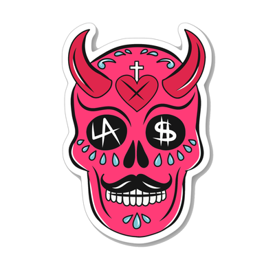 L.A. Devil Sticker