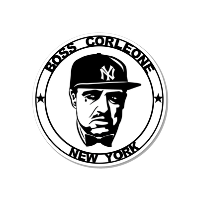 Boss Corleone All Star Sticker
