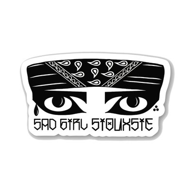 Sad Girl Siouxsie Sticker