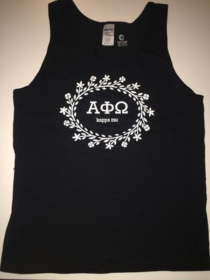APO Floral Wreath Tank Top