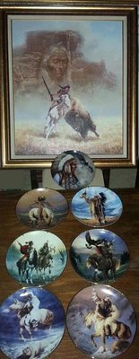 Native Indian Artwork Collection