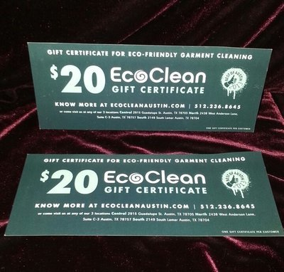 EcoClean Garment Cleaning