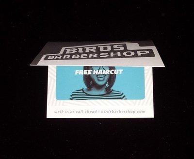 Haircut - Bird's Barbershop