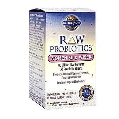 90 Garden of Life RAW Probiotics™ Women 50 & Wiser Capsules