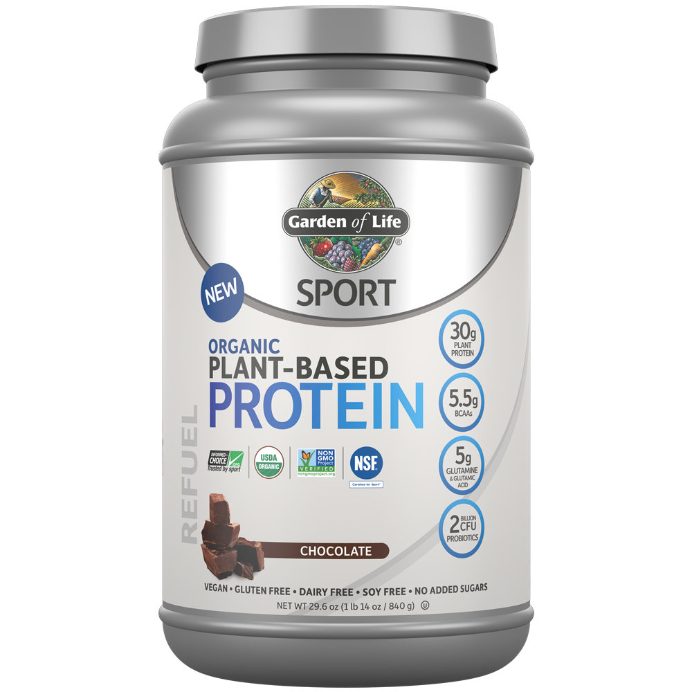 840g Organic Plant Based Protein Chocolate Powder