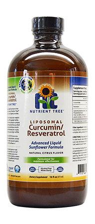 Nutrient Tree Liposomal Curcumin/Resveratrol 473ml Bottle
