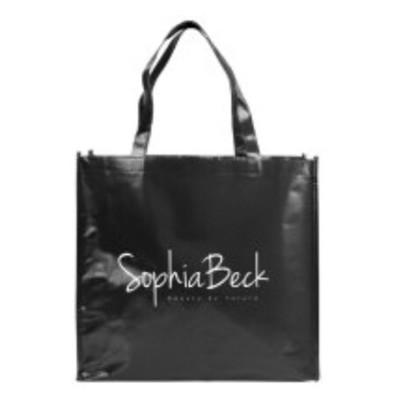 SophiaBeck ™ Skinnende Lamineret Mulepose