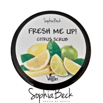 Fresh Me Up! Lemon Scrub