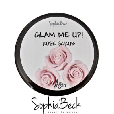 Glam Me Up! Rose Scrub