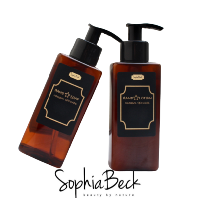 DeLuxe Hand Care Amber/Black