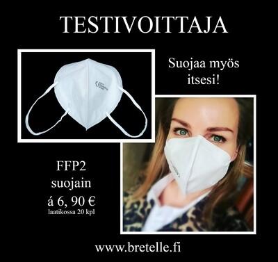 FFP2 hengityssuojain 10 kpl