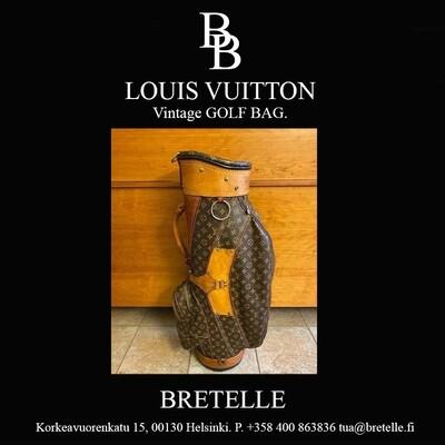 Louis Vuitton Golf bag osta heti tai tee tarjous