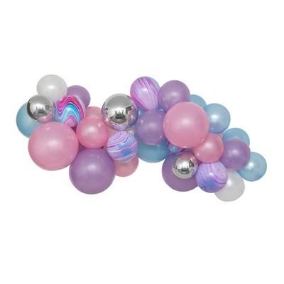 Mermaid Wishes DIY Balloon Garland