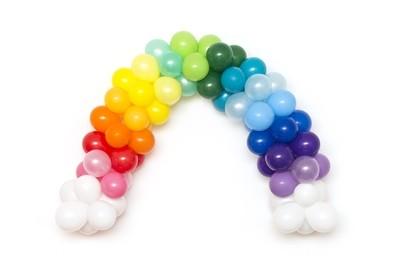 Rainbow Balloon Arch DIY Kit
