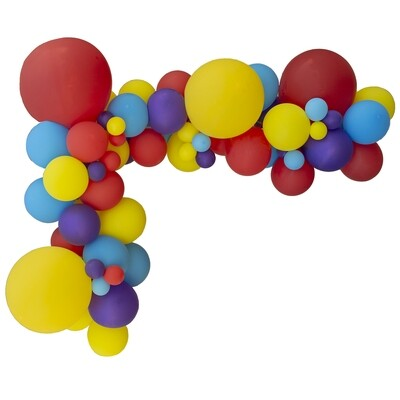 Wiggles DIY Balloon Garland