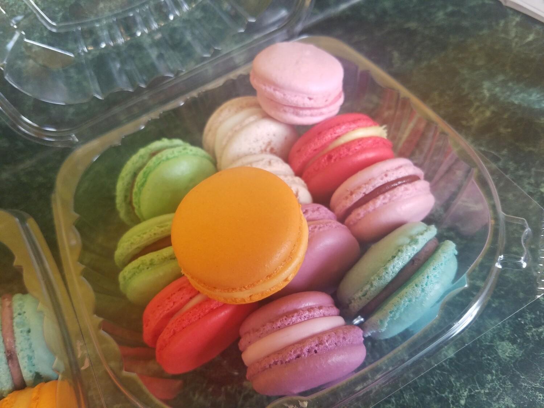 French Macaron Flavors 1 Dozen