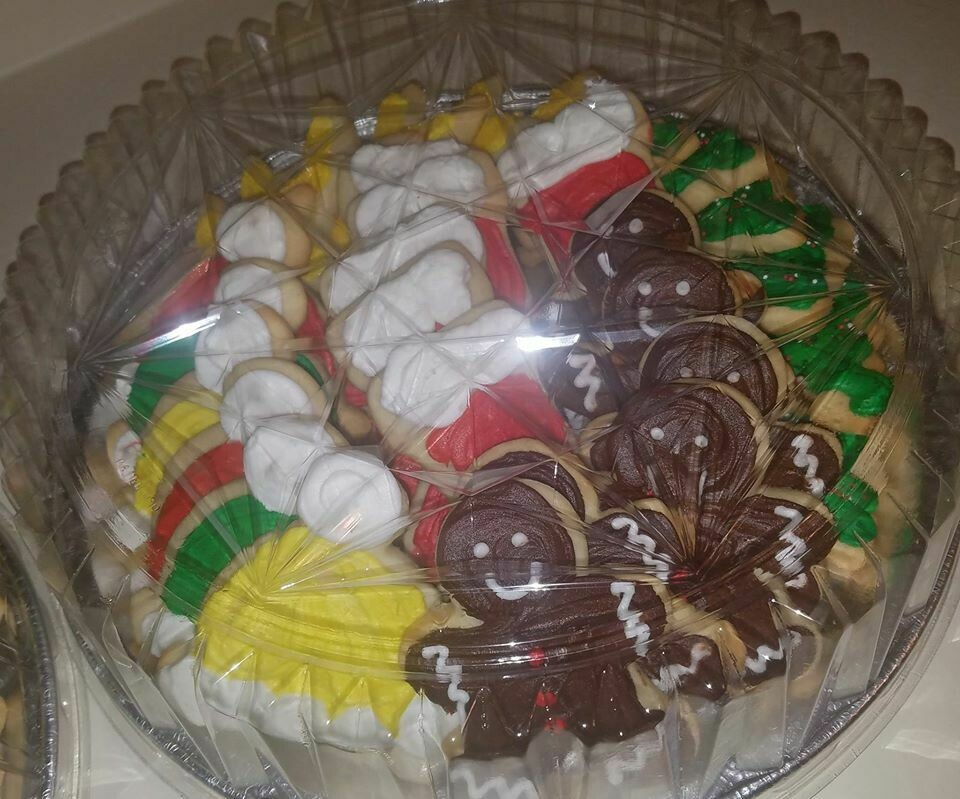 Sugar Cookie Tray 2.5 Dozen