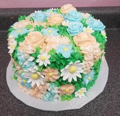 Floral Cake - Choose Flavor