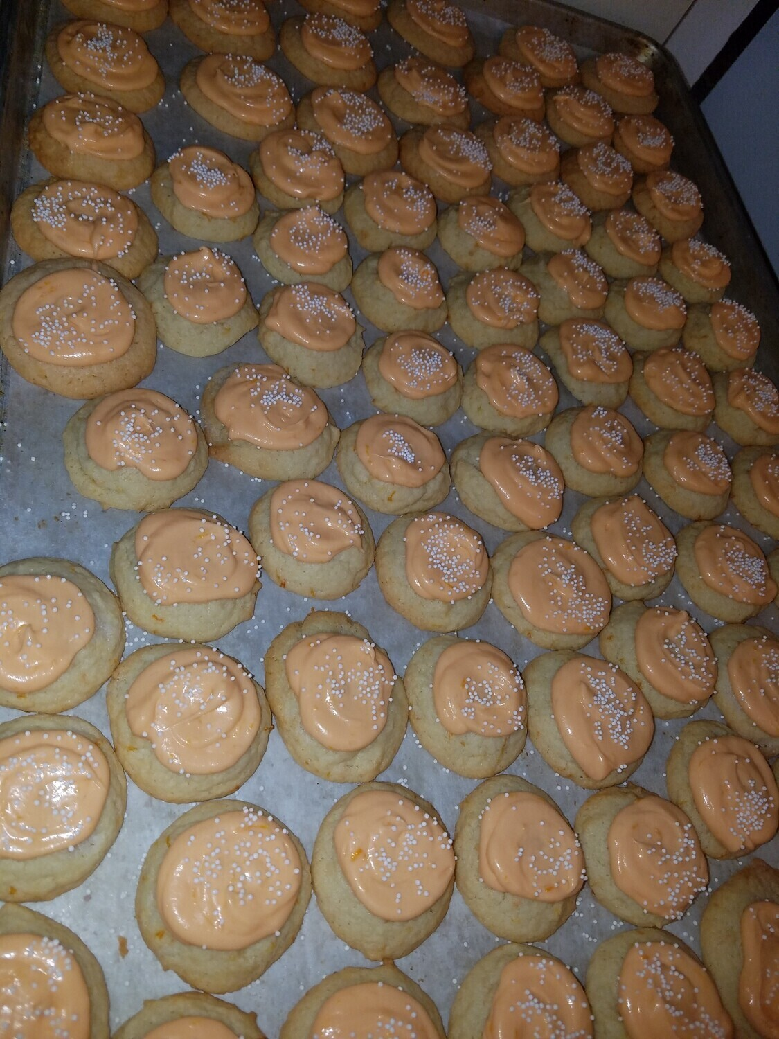 Frosted Orange Cookies