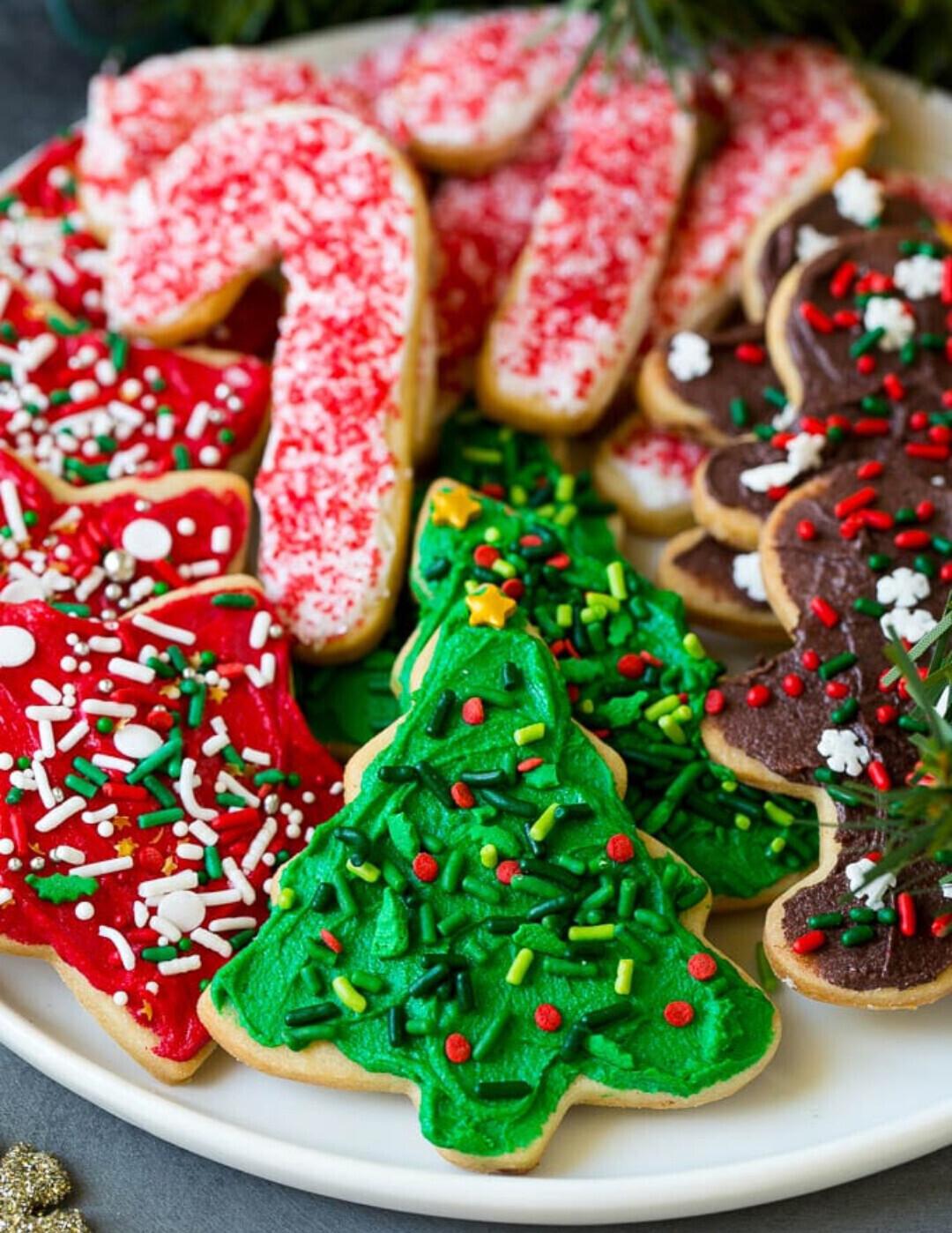 Iced Sugar Cookies