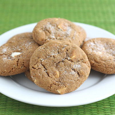 White Chocolate Ginger Cookie