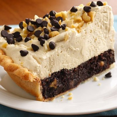 Brownie Peanut Butter Pie